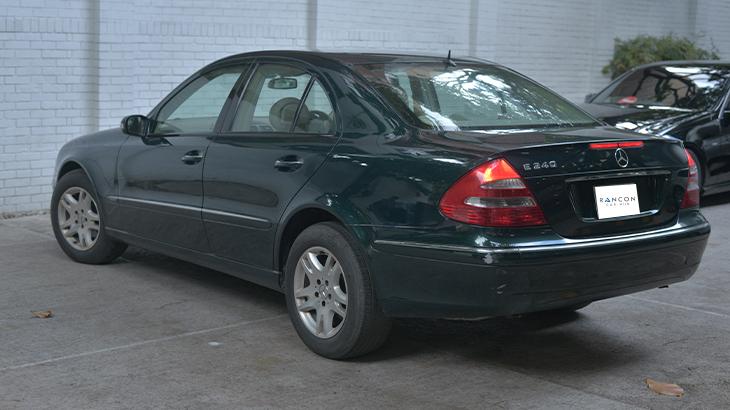 Mercedes Benz E240 full